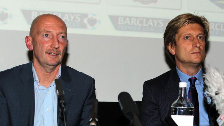 Ian Holloway: Has left his post at Crystal Palace