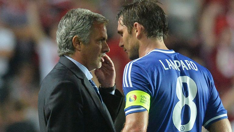 Jose Mourinho: Full of praise for the way Lampard has changed his game
