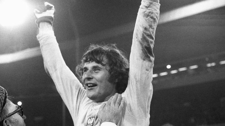 Jan Tomaszewski was the hero as Poland shocked Sir Alf Ramsey's men