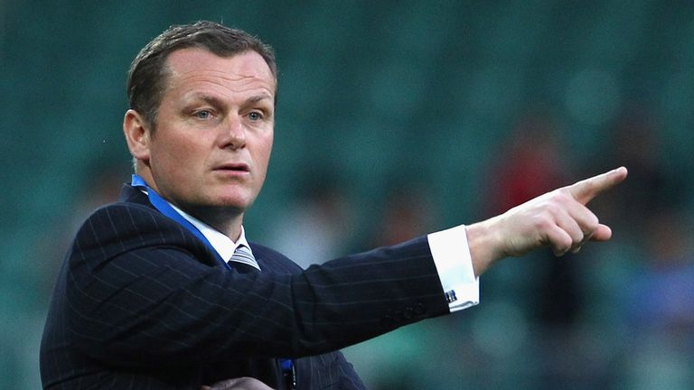 Jim Magilton: Took charge of the Under-21s
