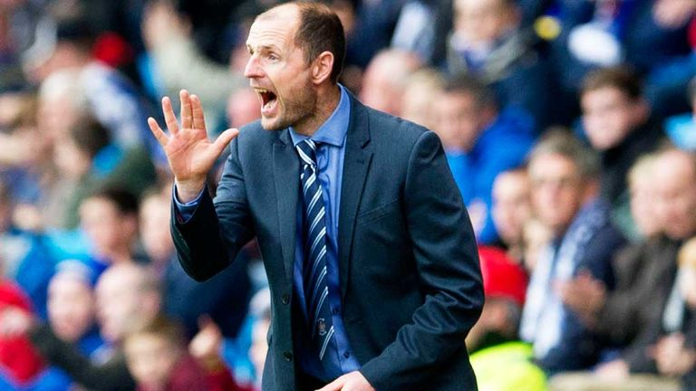 Allan Johnston: Kilmarnock boss watched his first victory since taking the job