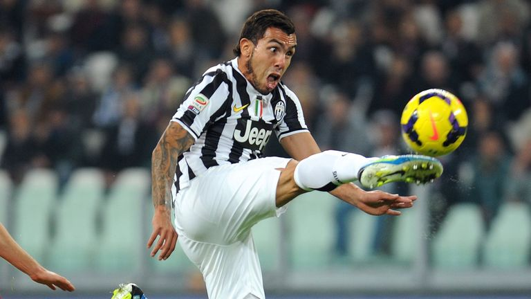 Carlos Tevez: Juventus forward happy in Turin and wants to win Serie A title