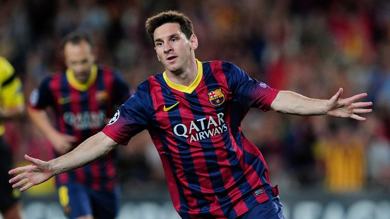 Lionel Messi: Not about to get a new deal