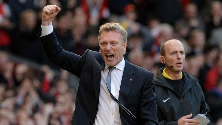 David Moyes: Guided United to a dramatic 3-2 comeback win over Stoke