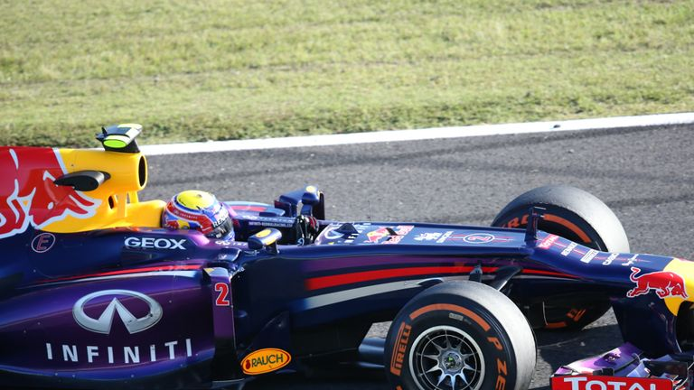 Mark Webber: Fastest in final practice at Suzuka