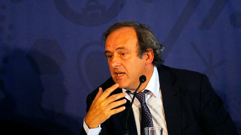 "Michel Platini: Called Paris St Germain's financial model ""atypical"""
