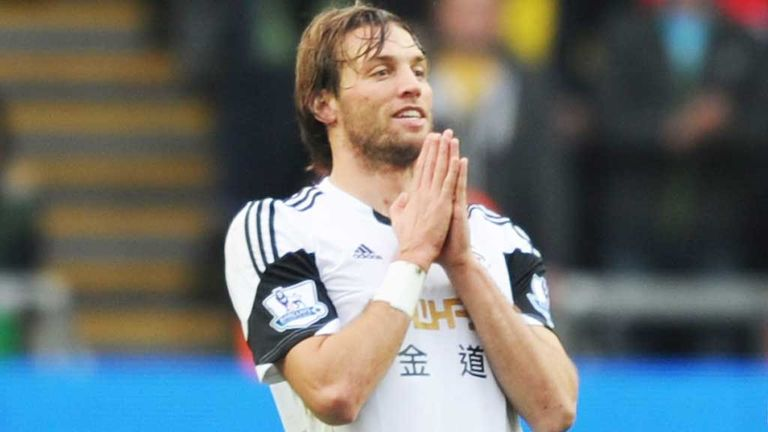 Michu: Swansea striker has been included in the Spain squad for the first time