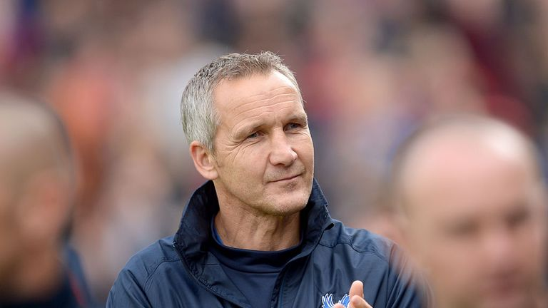 Keith Millen: Crystal Palace caretaker has ruled himself out of the running
