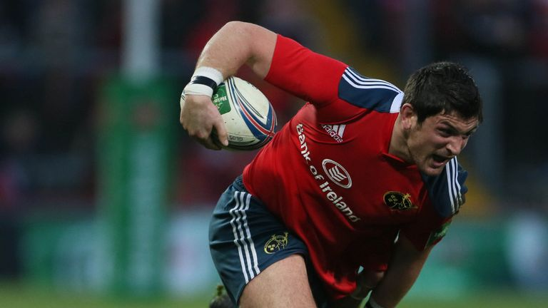 James Downey: Keen that Munster rebuild their Heineken Cup legacy