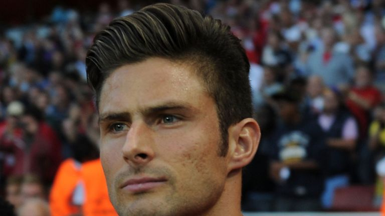 Olivier Giroud: Turning his attention to France's World Cup hopes