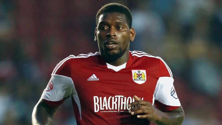 Jay Emmanuel-Thomas: Bagged one for Bristol City