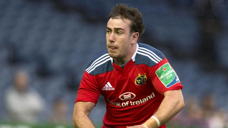 JJ Hanrahan: scored all Munster's points
