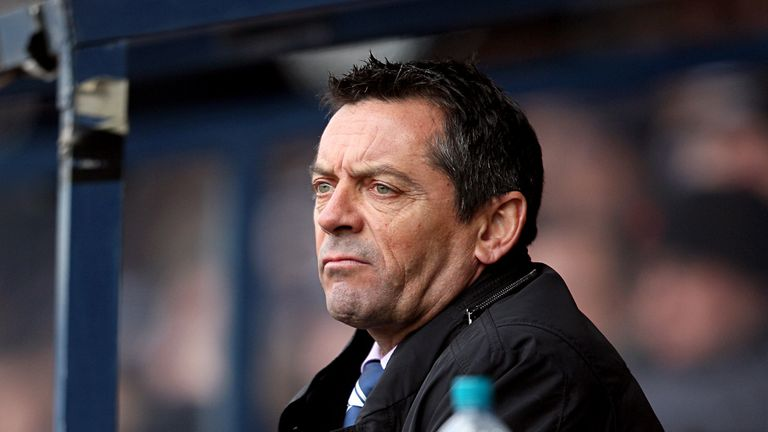 Phil Brown: Pleased with his players' patience