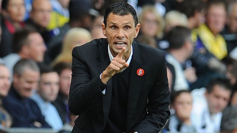 Gus Poyet: Charged with the task of saving Sunderland's season