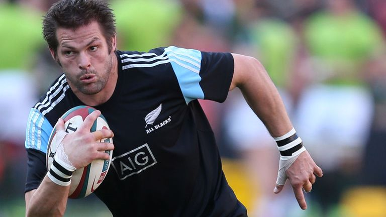 Richie McCaw: Leading 36-man squad to Europe