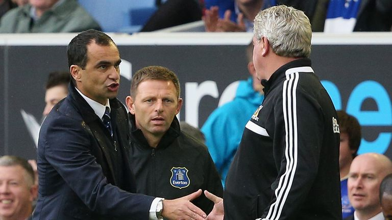 Roberto Martinez: Backed the referee's decision to allow Kevin Mirallas' opening goal