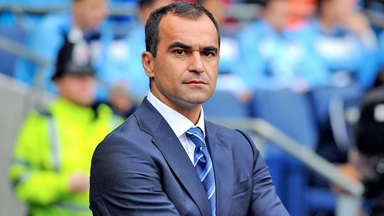 Roberto Martinez: Wants Everton to send a message