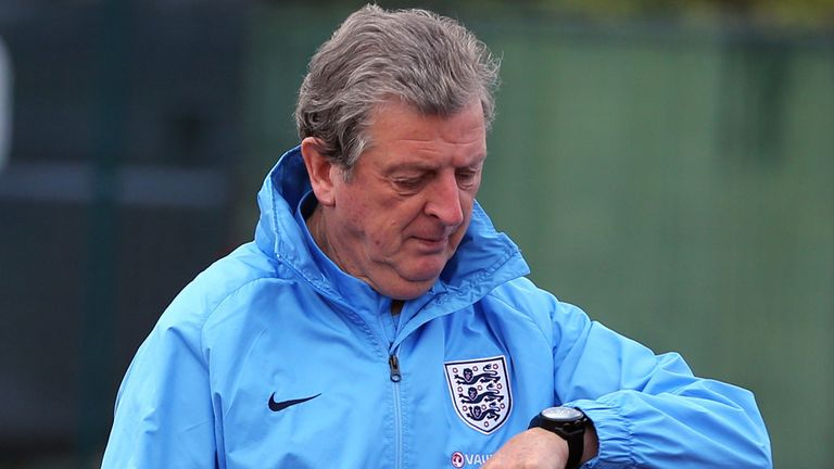 Roy Hodgson: Counting down the hours before Tuesday's crunch clash