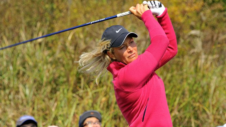 Suzann Pettersen: Strong start in Taiwan for the defending champion