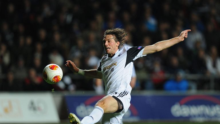 Michu: Swansea striker is making a recovery from recent surgery