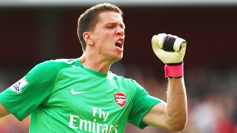 Wojciech Szczesny: Believes Arsenal remain in a strong position