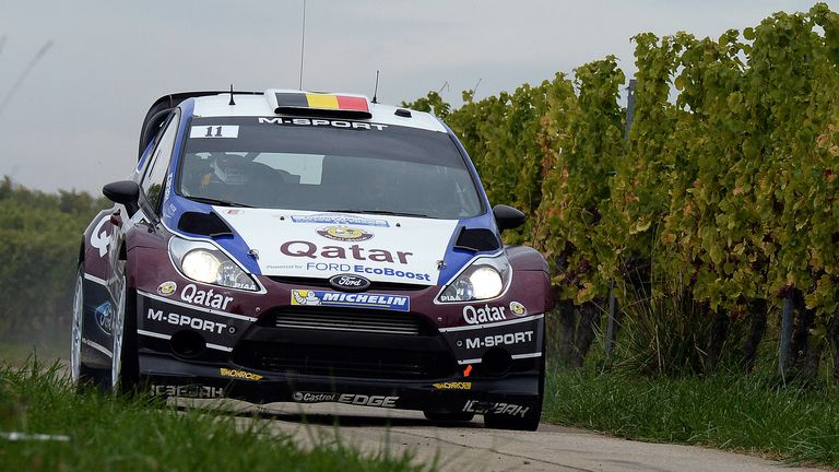 Thierry Neuville: Leads Rally France after Friday's running