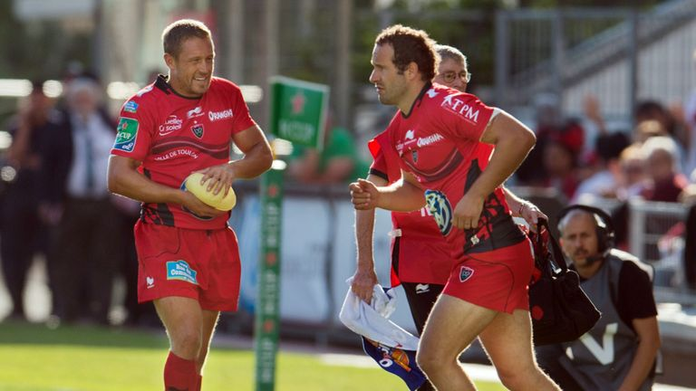 Fred Michalak: Will only play fly-half