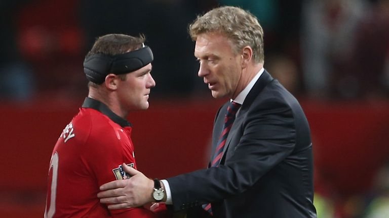 David Moyes: Wants Wayne Rooney to be given a rest