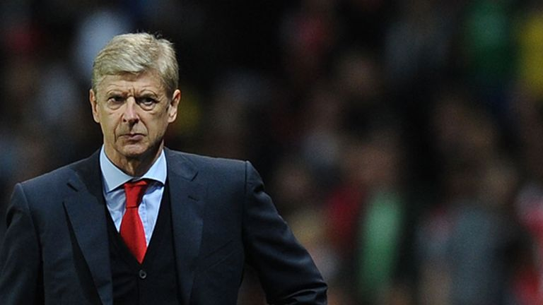 Arsene Wenger: Arsenal boss was happy with much of his side's performance despite defeat to Chelsea