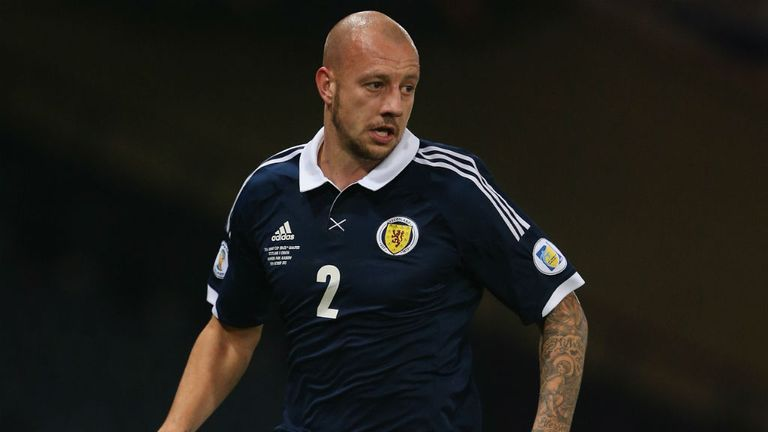 Alan Hutton: Frozen out at Aston Villa but an important part of the Scotland set-up