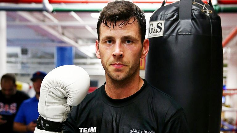 Darren Barker: Will make the first defence of his world title in Germany