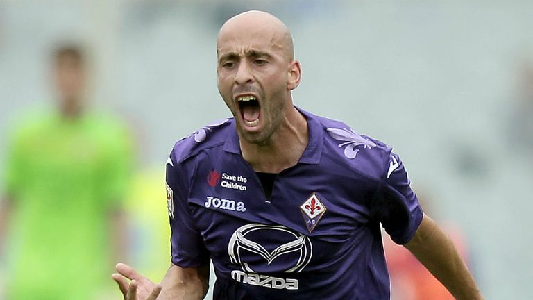 Borja Valero: Has caught the eye during his time with Fiorentina