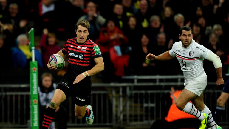Chris Wyles: Comes into the Saracens XV for their clash with Toulouse