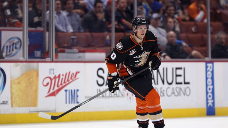 Corey Perry: Netted twice for the Anaheim Ducks