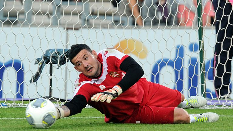 Danijel Subasic: Monaco goalkeeper has signed contract extension