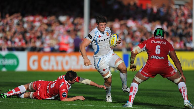 Ewers: big ball carrier for Exeter