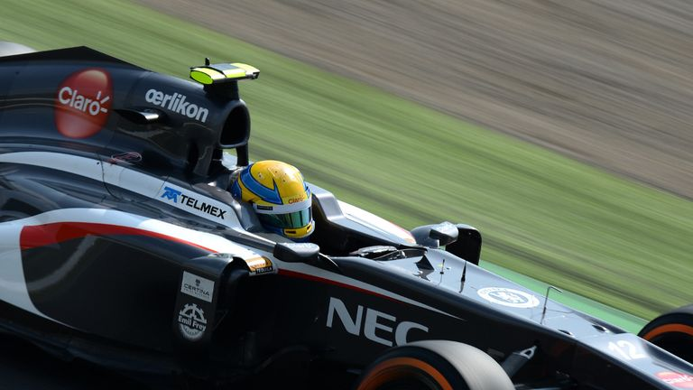 Esteban Gutierrez: Claimed first points finish in Japan