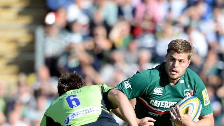 Ed Slater scored his second try of the season in Leicester's draw with Northampton last weekend