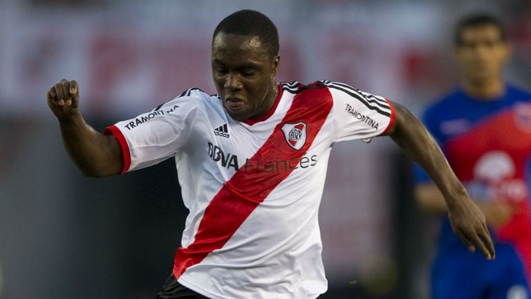 Eder Balanta: Has caught the eye at River Plate