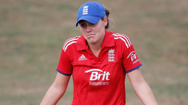There's nothing England Women's Natalie Sciver can do about the weather in Trinidad