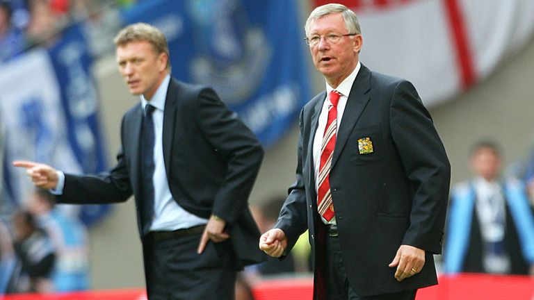 David Moyes: Battling to step out of Sir Alex Ferguson's shadow