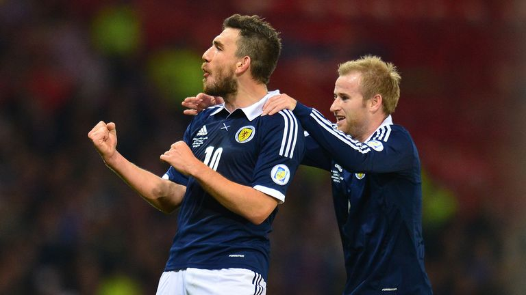 Snodgrass celebrates scoring against Croatia - but are Scotland heading in the right direction?