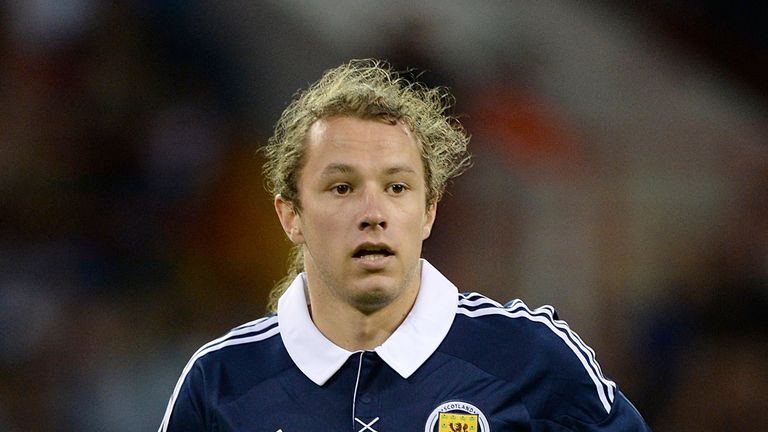 Stevie May: Scored on his first start for Scotland U21s