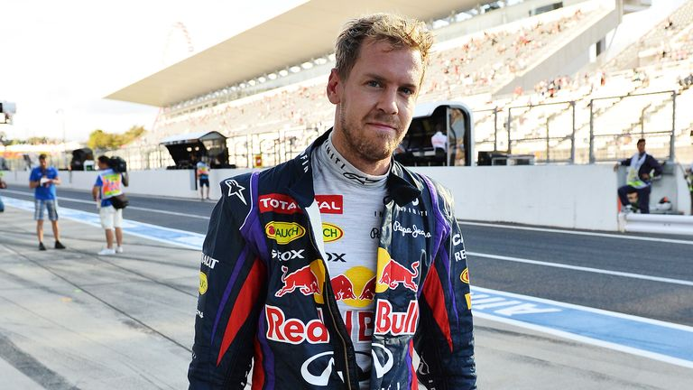 Vettel will start Sunday's race on the front-row alongside Webber
