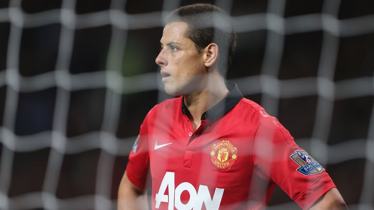 Javier Hernandez: Finds starts hard to come by at Manchester United