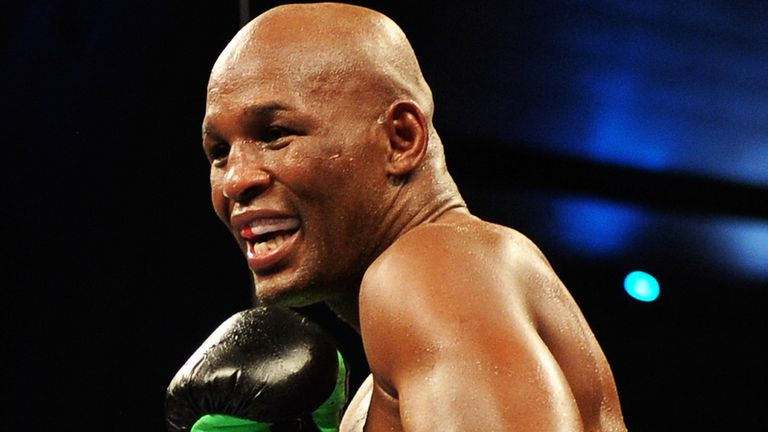 Bernard Hopkins: Looking to unify the two light-heavyweight titles