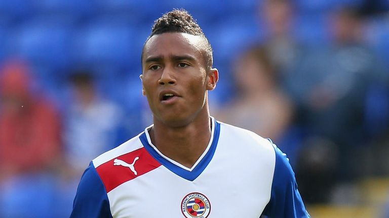 Jordan Obita: Has forced his way into the first team set-up at Reading