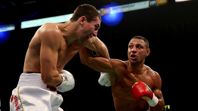 Kell Brook: Stopped Vyacheslav Senchenko in their final eliminator for the IBF welterweight title