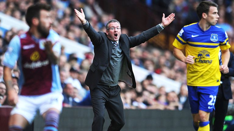 Paul Lambert: Aston Villa manager rued missed chances