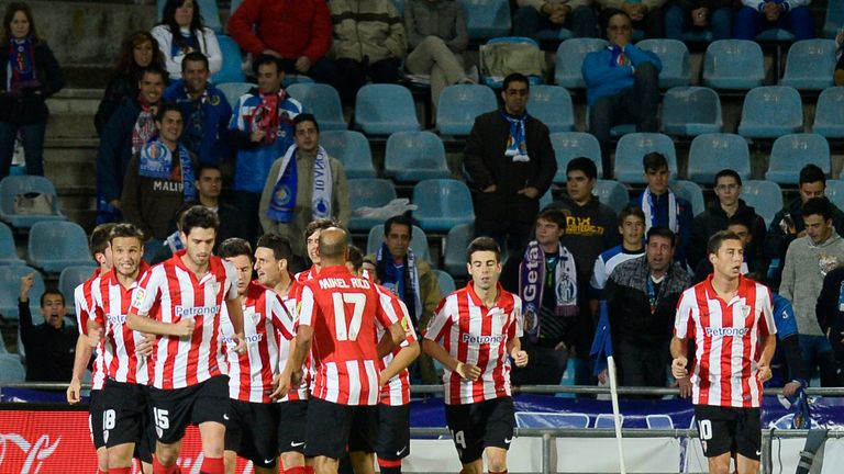 Aymeric Laporte: Celebrates only goal